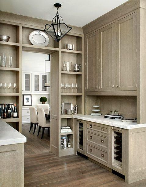 Design in Mind Limed Oak Cabinets  Coats Homes  Highland Park, TX