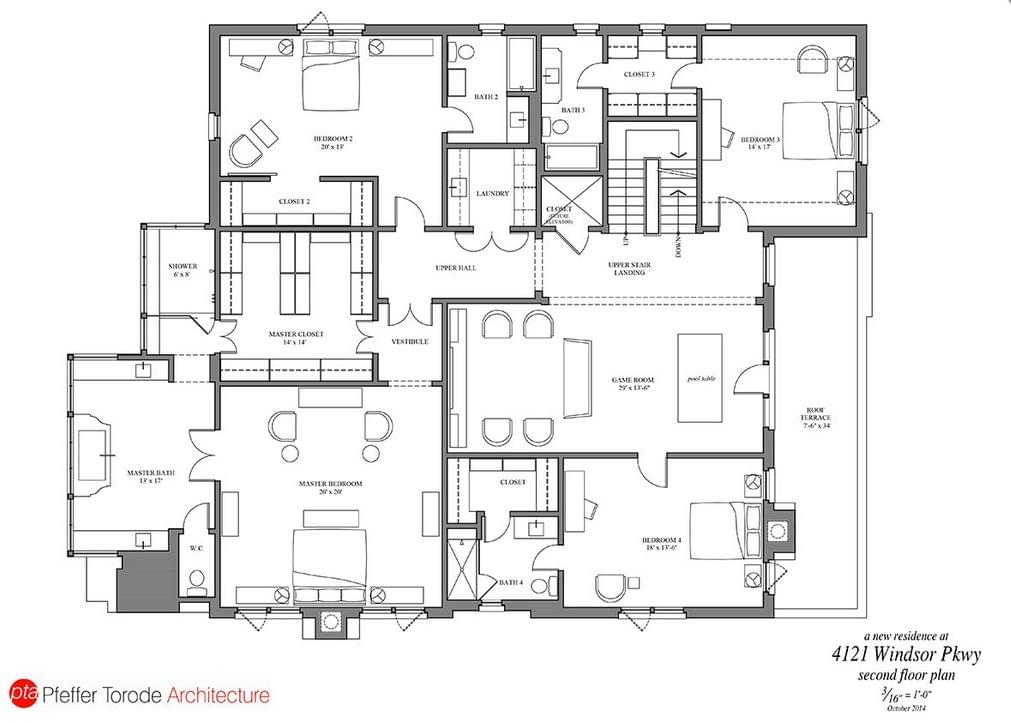 4121 windsor parkway architect featured in veranda this month coats homes highland park tx - Full verandah house plans the functional extra space ...