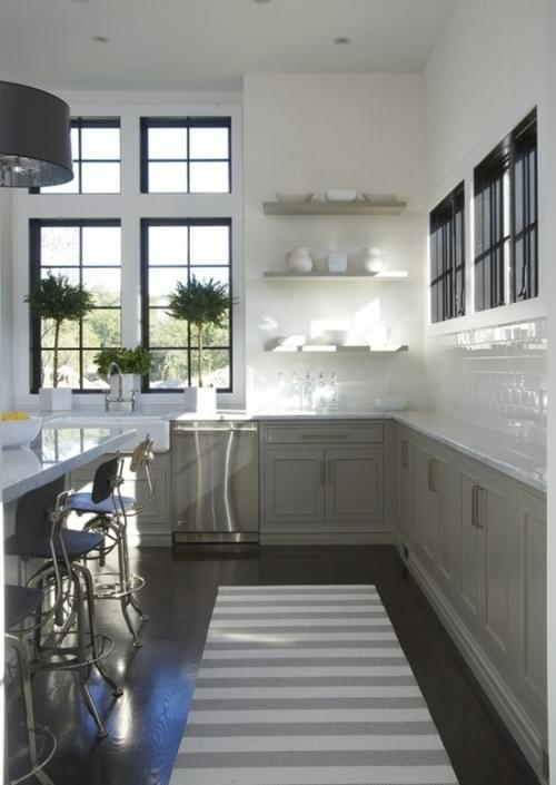 The Pics Below Are Inspiring Us To Leave Upper Cabinets Out Of Our Kitchen Designs Enjoy